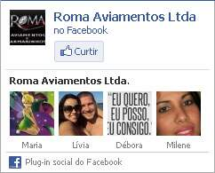 Curta a Roma Aviamentos no Facebook!
