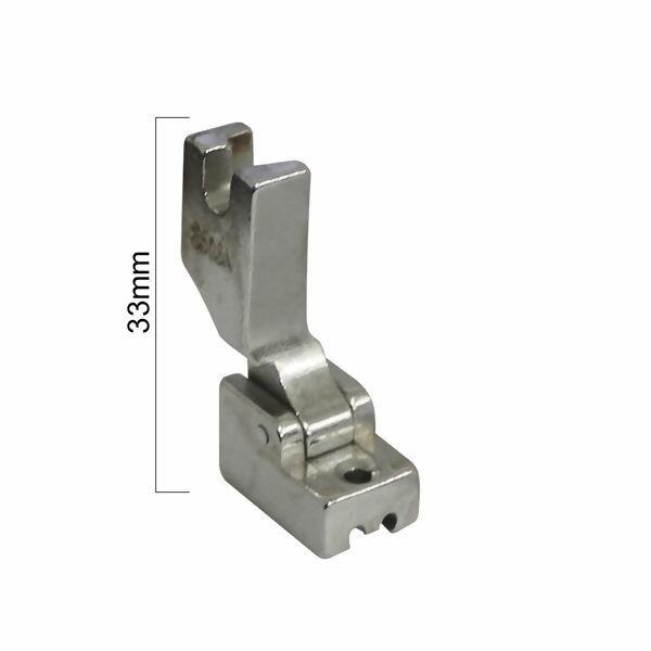 Calcador metal ziper invisível S518 - 2842
