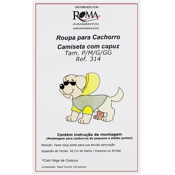 0a378747440c7 Loja de aviamentos e armarinhos Molde para roupa de cachorro Nº314 Cam