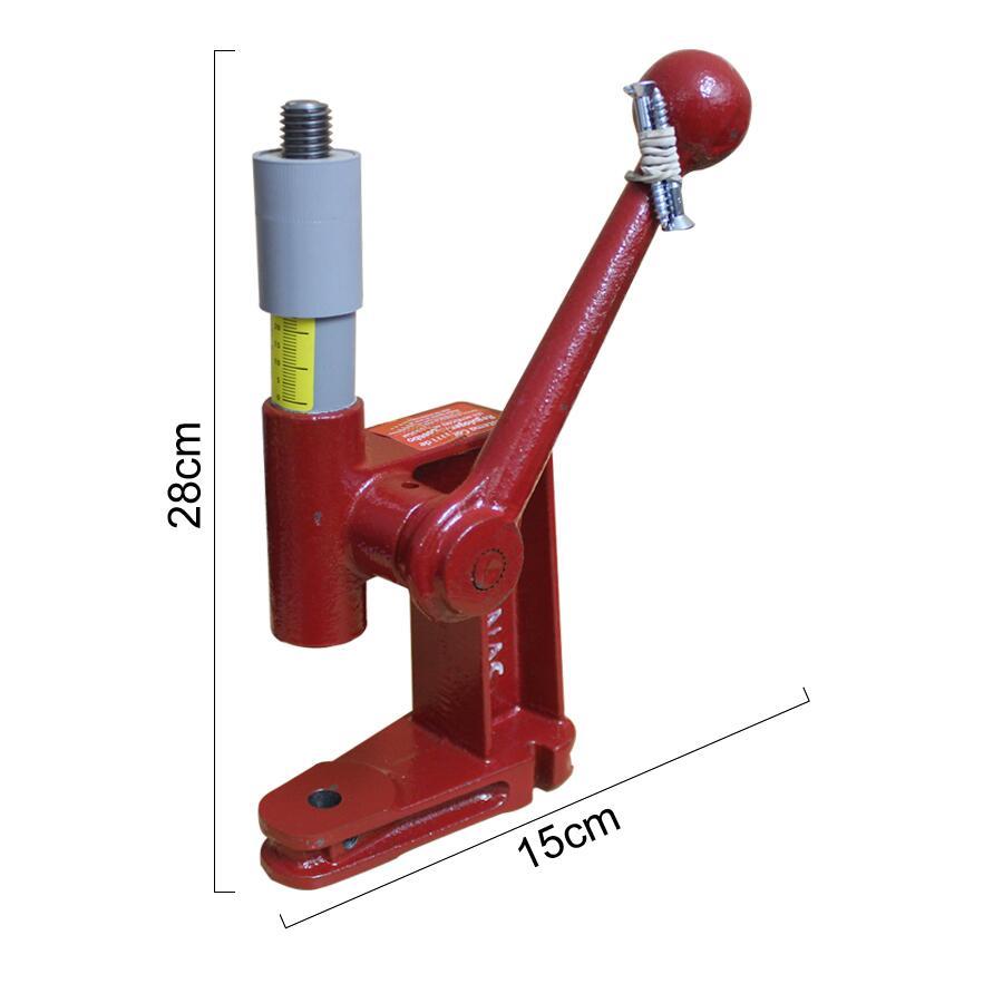 8b4e7c09e Loja de armarinhos e aviamentos Máquina de pressão vermelho Cardenas
